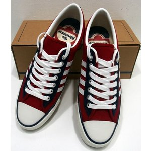 WAREHOUSE(ウエアハウス)Original Sneaker [LOW CUT SNEAKER/Lot.3500-Red]|threeeight