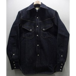 WAREHOUSE(ウエアハウス) [LONG HORN TYPE DENIM WESTERN SHIRTS/Lot. 3001]|threeeight