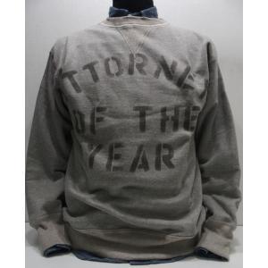 WAREHOUSE(ウエアハウス)Original Sweat Sweater [ATTORNEY-Gray/Lot.401] threeeight