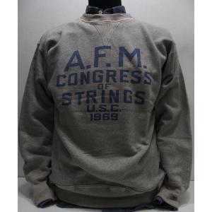 WAREHOUSE(ウエアハウス)Original Sweat Sweater [A.F.M.-Gray/Lot.401] threeeight