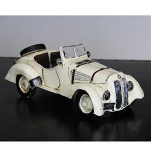 【アンティーク調】ブリキトイ クラシックカー [オープンカー]|threestone