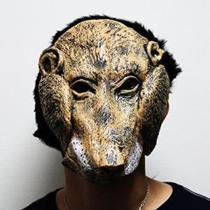 仮装マスク [獅子フェイス] コスプレグッズ なりきりコスチューム|threestone