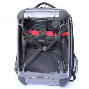 スケルトン リュック [Mサイズ]旅行に最適 【 移動 キャリーケース トランクキャリー 鞄 かばん 旅行 おでかけ 】|threestone