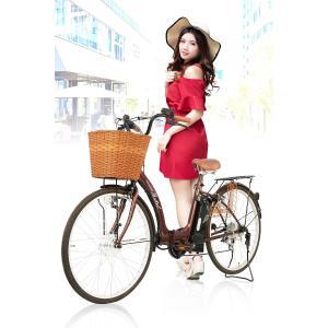電動アシスト自転車 26インチ シマノ内装3段ギア 型式認定車両 PASTEL 電動自転車 【代引き注文不可】|threestone|03