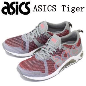 sale セール ASICS Tiger (アシックスタイガー) TQN6C1-1273 GEL-LYTE ONE EIGHTY (ゲルライト ワンエイティ) スニーカー ミディアムグレーxグアバ AT076|threewoodjapan