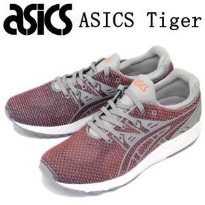 sale セール ASICS Tiger (アシックスタイガー) TQN6D0-1273 GEL-KAYANO TRAINER EVO (ゲルカヤノトレーナーエボ) スニーカー ミディアムグレーxグアバ AT078|threewoodjapan