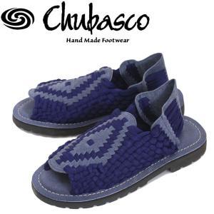 Chubasco (チュバスコ) AZCO005J AZTEC SANDAL (アズテックサンダル) ネイビー/ネイビー|threewoodjapan