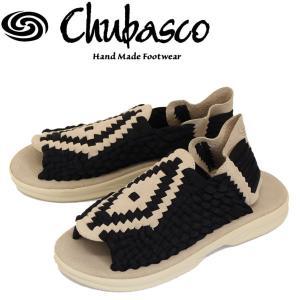 Chubasco (チュバスコ) AZCO012P AZTEC SANDAL (アズテックサンダル) ブラック/サンド|threewoodjapan
