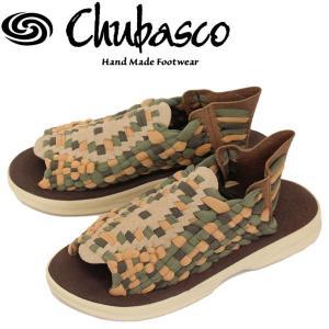 Chubasco (チュバスコ) AZCO015P AZTEC SANDAL (アズテックサンダル) ファーン/ベージュ/オリーブ/サンド|threewoodjapan
