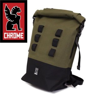 CHROME (クローム クロム) BG217 URBAN EX ROLLTOP18V2 (アーバン ロールトップ バックパック デイバッグ) RANGER/BLACK CH109|threewoodjapan