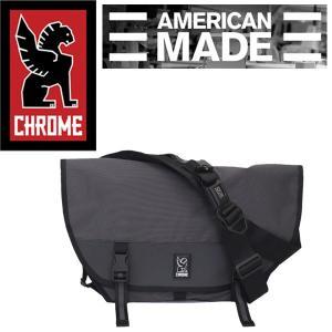 CHROME (クローム クロム) BG221 MINI METRO WELTERWEIGHT (ミニメトロ メッセンジャーバッグ) CHARCOAL/BLACK CH101|threewoodjapan