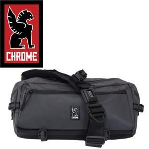 CHROME (クローム クロム) BG223 KADET WELTERWEIGHT (カデット ボディバッグ) CHARCOAL/BLACK CH100|threewoodjapan