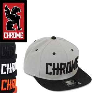 CHROME (クローム クロム) JP013 STARTER SNAP BACK TYPE1 CAP (スナップバック 1 キャップ) 全4色 CH107|threewoodjapan