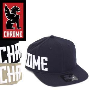 CHROME (クローム クロム) JP014 STARTER SNAP BACK TYPE2 CAP (スナップバック 2 キャップ) 全3色 CH108|threewoodjapan