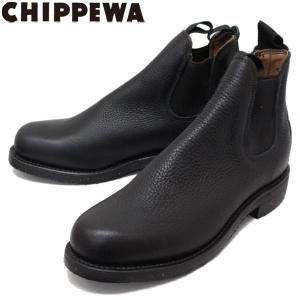 CHIPPEWA (チペワ) 1901G15 6inch ORIGINAL TWINGOA BOOTS 6インチ ツインゴア サイドゴアブーツ BLACK 保証書付 threewoodjapan