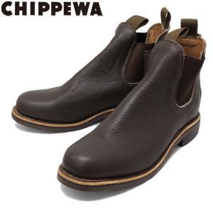 CHIPPEWA (チペワ) 1901G16 6inch ORIGINAL TWINGOA BOOTS 6インチ ツインゴア サイドゴアブーツ CHOCOLATE 保証書付 threewoodjapan