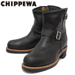 CHIPPEWA (チペワ) 1901M10 7inch ORIGINAL STEEL TOE ENGINEER BOOTS 7インチ スチールトゥ エンジニアブーツ BLACK 保証書付|threewoodjapan