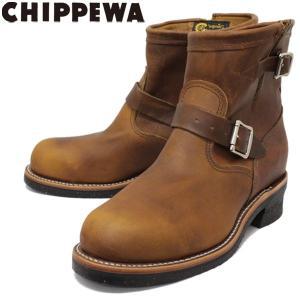 CHIPPEWA (チペワ) 1901M12 7inch ORIGINAL STEEL TOE ENGINEER BOOTS 7インチ スチールトゥ エンジニアブーツ TAN 保証書付|threewoodjapan