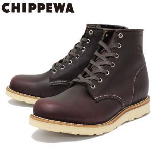 CHIPPEWA (チペワ) 1901M16 6inch SPORT BOOTS 6インチ プレーントゥ スポーツブーツ CORDOVAN 保証書付|threewoodjapan