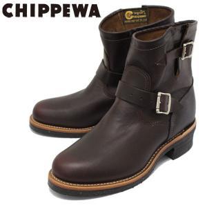 CHIPPEWA (チペワ) 1901M52 7inch ORIGINAL ENGINEER BOOTS 7インチ プレーントゥ エンジニアブーツ CORDOVAN 保証書付|threewoodjapan