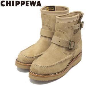 CHIPPEWA (チペワ) 1901W09 Women's 7inch Highlanders(7インチハイランダーズ モックトゥ・ショートエンジニアブーツ) レディース Khaki 保証書付|threewoodjapan