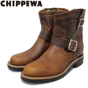 CHIPPEWA (チペワ) 1901W12 Women's 7inch Original Engineer(7インチオリジナルプレーントゥ・エンジニアーブーツ) レディース Tan 保証書付|threewoodjapan