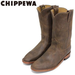 CHIPPEWA (チペワ) 1901W61 Women's 10inch Roper(10インチローパー プレーントゥ・エンジニアブーツ) レディース Brown Bomber 保証書付 threewoodjapan