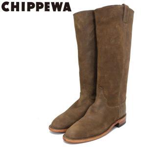 CHIPPEWA (チペワ) 1901W63 Women's 15inch Roper(15インチローパー プレーントゥ・ロングエンジニアブーツ) レディース Brown Bomber 保証書付 threewoodjapan