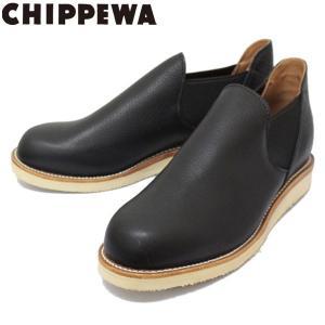 CHIPPEWA (チペワ) 1967 ORIGINAL CHIPPEWA ROMEO BOOTS ロメオ サイドゴアブーツ BLACK 保証書付 threewoodjapan