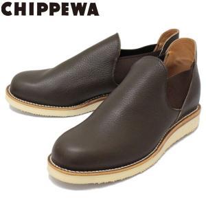 CHIPPEWA (チペワ) 1967 ORIGINAL CHIPPEWA ROMEO BOOTS ロメオ サイドゴアブーツ COFFEE 保証書付 threewoodjapan