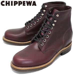 CHIPPEWA (チペワ) 1939 6inch SERVISE BOOTS 6インチ プレーントゥ サービスブーツ BURGUNDY 保証書付|threewoodjapan