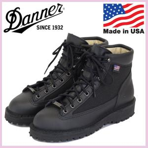 DANNER (ダナー) W'S 30466 DANNER LIGHT (ウィメンズダナーライト) レディースブーツ アメリカ製 BLACK|threewoodjapan