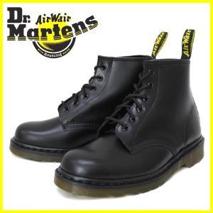 Dr.Martens ドクターマーチン 101 6EYE BOOT 6ホールブーツ BLACK ブラック|threewoodjapan