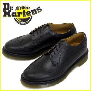 Dr.Martens (ドクターマーチン) 13844001 3989 5H ブローグシューズ Bl...