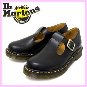 Dr.Martens ドクターマーチン POLLEY ポーリー BLACK ブラック レディース|threewoodjapan
