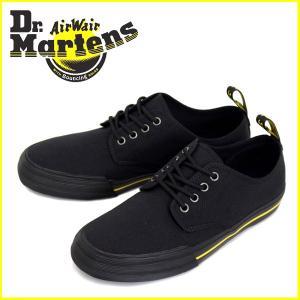 Dr.Martens (ドクターマーチン) PRESSLER (プレスラー) 10 oz キャンバス 4H シューズ Black|threewoodjapan