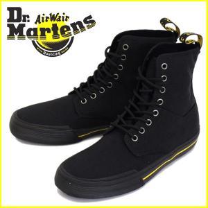 Dr.Martens (ドクターマーチン) WINSTED (ウィンステッド) 10 oz キャンバス 8H ブーツ Black|threewoodjapan