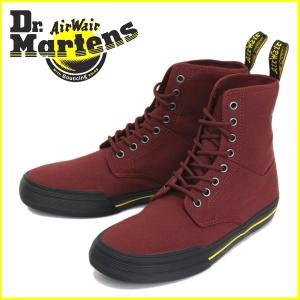Dr.Martens (ドクターマーチン) WINSTED (ウィンステッド) 10 oz キャンバス 8H ブーツ Cherry Red|threewoodjapan