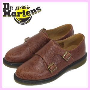 Dr.Martens (ドクターマーチン) Women's PANDORA (パンドラ) 2ストラップ レディース シューズ Chestnut|threewoodjapan