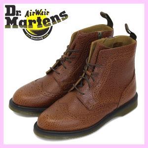Dr.Martens (ドクターマーチン) Women's DELPHINE (デルフィーン) 6H レディース レースアップブーツ Chestnut|threewoodjapan