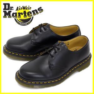 Dr.Martens ドクターマーチン 1461 3EYE GIBSON 3ホール ギブソン BLACK ブラック|threewoodjapan