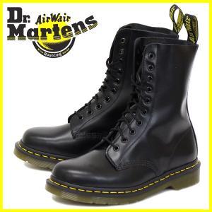 Dr.Martens ドクターマーチン 1490 10EYE BOOTS 10ホールブーツ BLACK ブラック|threewoodjapan
