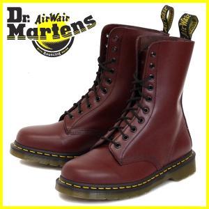 Dr.Martens ドクターマーチン 1490 10EYE BOOTS 10ホールブーツ CHERRY RED チェリーレッド|threewoodjapan