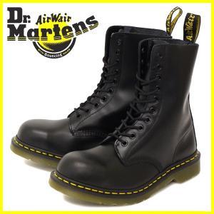Dr.Martens ドクターマーチン 1919Z 10EYE STEEL TOE BOOTS 10ホール スチール入り ブーツ BLACK ブラック|threewoodjapan