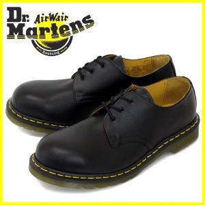 Dr.Martens ドクターマーチン 1925Z 3EYE STEEL TOE 3ホール スチール入り BLACK ブラック|threewoodjapan