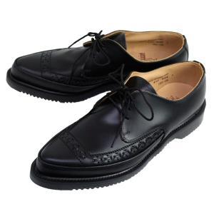 George Cox(ジョージコックス) 3705(4065) AIR SOLE エアーソール GIBSON ギブソン BLACK ブラック|threewoodjapan