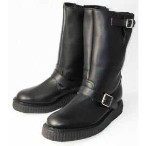 George Cox(ジョージコックス) No.5 Creeper Sole Engineer Boots クリーパーソールエンジニアブーツ 666ダブルネーム|threewoodjapan