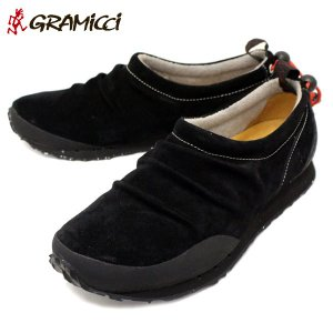 GRAMICCI(グラミチ) GR00015026 LOAM(ローム) スエードモックシューズ BLACK GR044|threewoodjapan