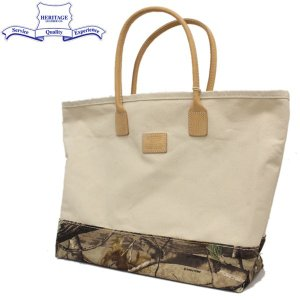 HERITAGE LEATHER CO.(ヘリテージレザー) NO.7717 Day Tote Bag M (トートバッグ) Natural/Real Tree Camo HL172|threewoodjapan