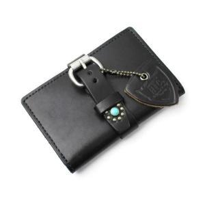 3ff828211638 HTC #115 BEFOLD WALLET(ビホールドウォレット) 財布 CADE CASE(カードケース) 名刺入れ BLACK ブラック